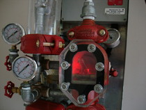 NXT valve set demonstrator