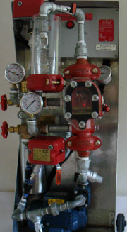 Custom spinkler system demonstration unit