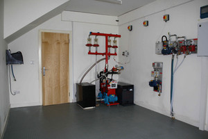 Commercial fire sprinkler products and residentail fire pumps for cuctomers to try and test