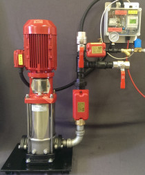 RESIDENTIAL WATER MIST PUMP for fire protection of residential and commerical buildings