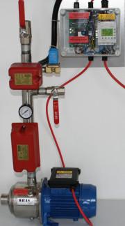 Domestic water mist system pump