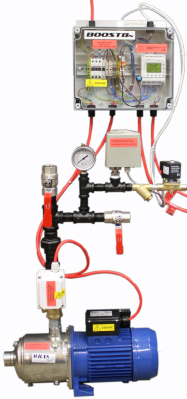 a domestic fire sprinkler pump for BS 9251  for two sprinkler heads in the home